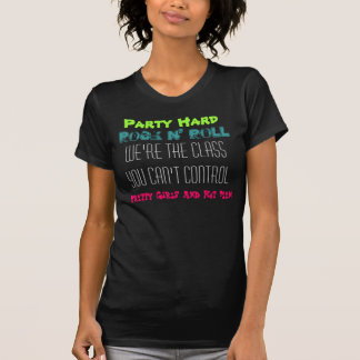 Party dur, petit pain de n de roche, nous sont la t-shirt
