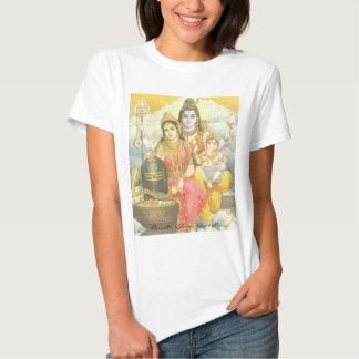 Parvati, Shiva, Ganesh T-shirts