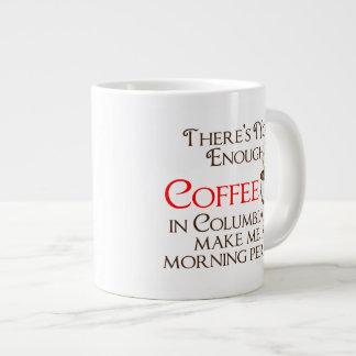 Pas assez de café dans la tasse de Colombie