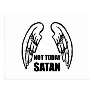Pas aujourd'hui Satan Cartes Postales