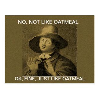 PAS COMME LA FARINE D AVOINE - meme de quaker Cartes Postales