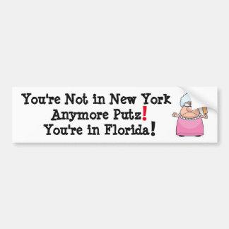 PAS DANS DE NEW YORK L'ADHÉSIF POUR PARE-CHOCS AUTOCOLLANT POUR VOITURE
