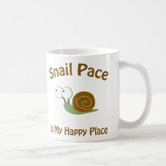 Pas d'escargot mug