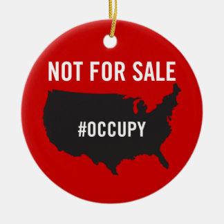 Pas en vente - occupez Wall Street - nous sommes l Ornement De Noël