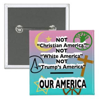 """Pas Pin de foi """"de l'Amérique de l'atout"""" Badges"""