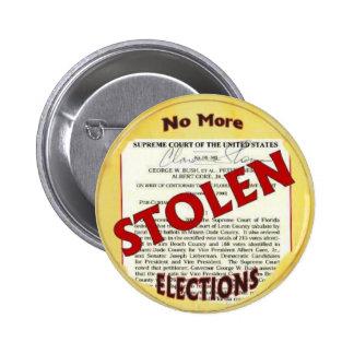 Pas plus de bouton volé d'élections badge