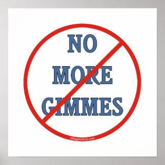 Pas plus de Gimmes Posters