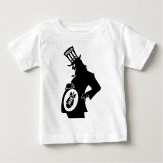 Pas plus de guerre t-shirt pour bébé