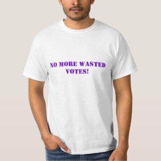 PAS PLUS DE VOTES GASPILLÉS ! T-SHIRT