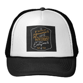 pas pour chacun casquette trucker