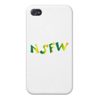 Pas sûr pour le travail brise fraîche de NSFW Coques iPhone 4/4S