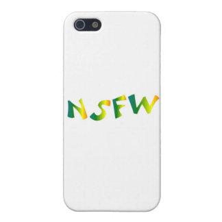 Pas sûr pour le travail brise fraîche de NSFW iPhone 5 Case