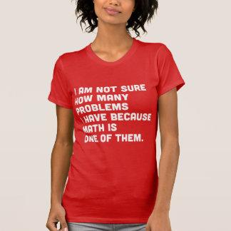 Pas sure combien de problèmes parce que les maths t-shirt