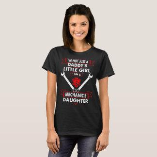 Pas T-shirt de fille de mécanique de petite fille