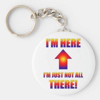 pas tous là porte - clé porte-clé rond