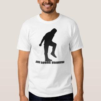 Pas traînant de style d'AUS T-shirts