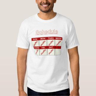 Pas traînant quotidien t-shirt