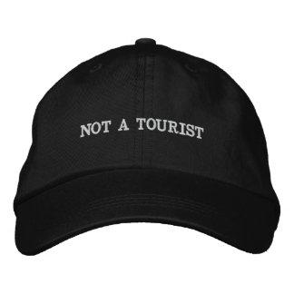 Pas un casquette de touristes