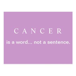 PAS une carte postale de cancer du sein de PHRASE