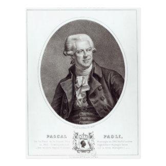 Pascal Paoli, 1872 Carte Postale