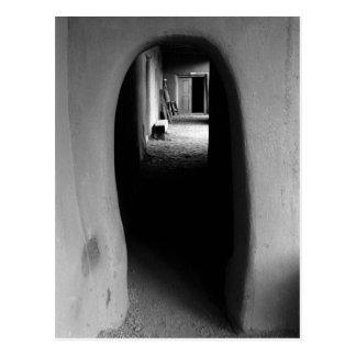 Passage d'Adobe : Carte postale noire et blanche