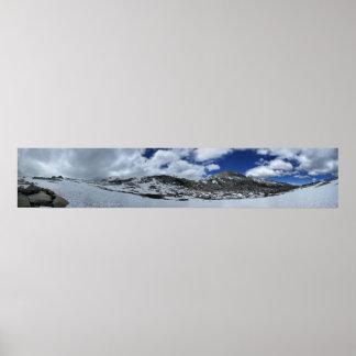 Passage de Donahue couvert par neige - traînée de Poster