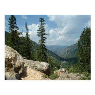 Passage de Guanella près de Georgetown le Colorado Carte Postale