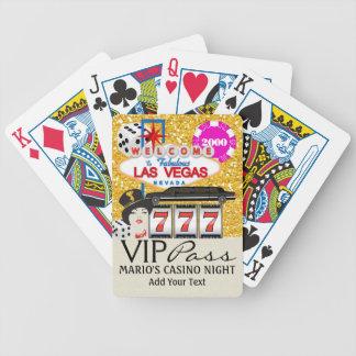 PASSAGE de VIP - Vegas - cartes de jeu - SRF Jeu De 52 Cartes
