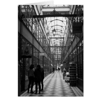 Passage du Grand Cerf, Paris France Cartes