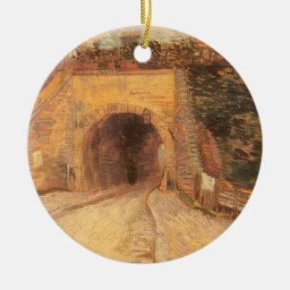 Passage souterrain de chaussée, viaduc par Vincent Ornement Rond En Céramique