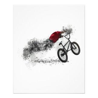 Passe-temps de vélo de sport prospectus 11,4 cm x 14,2 cm