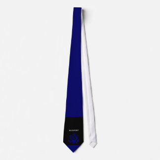 Passeport Eagle des USA, bleu Cravate Personnalisée