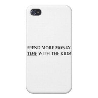 Passez plus de temps avec le Kids pdf Étui iPhone 4