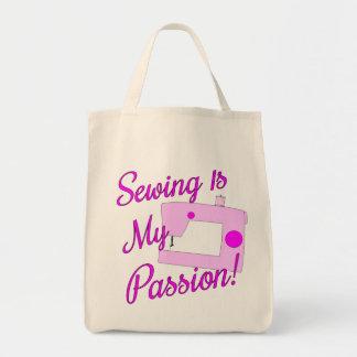 Passion de couture sac fourre-tout
