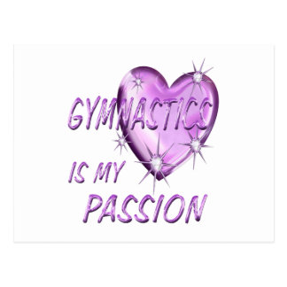 PASSION DE GYMNASTIQUE CARTES POSTALES