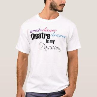 Passion de théâtre t-shirt