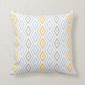 Pastel scandinave de carreau géométrique coussin décoratif