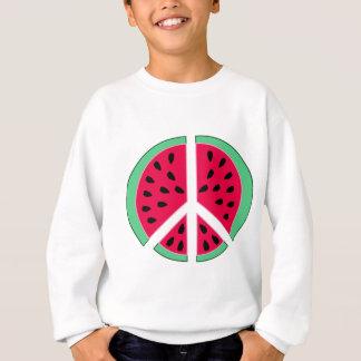 Pastèque de paix sweatshirt