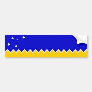 Patagonia de Magallanes/drapeau Patagonian. Le Chi Autocollant Pour Voiture