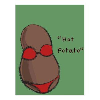 Patate chaude carte postale