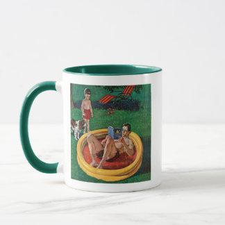 Patauger la piscine mugs