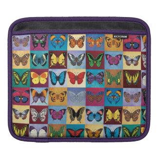 Patchwork de papillon housse iPad