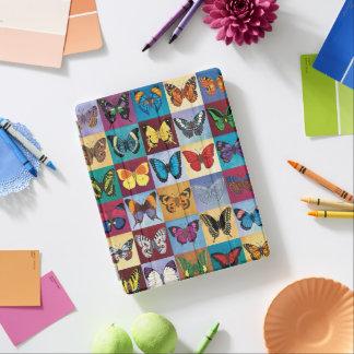 Patchwork de papillon protection iPad