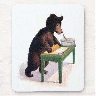 Pâte de roulement d'ours de nounours pour des bisc tapis de souris