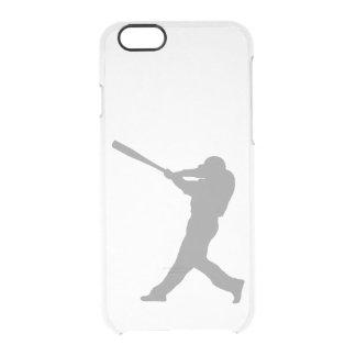 Pâte lisse de base-ball coque iPhone 6/6S