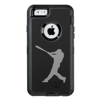 Pâte lisse de base-ball coque OtterBox iPhone 6/6s