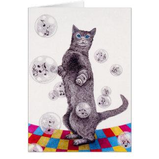 Pâte lisse de bulle cartes