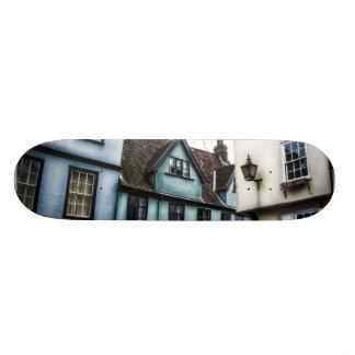 patin vintage plateaux de skateboards customisés