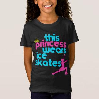 Patins de cette glace de princesse Wears - Golly T-Shirt