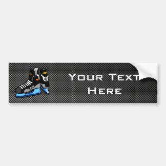 Patins d'hockey de fibre de carbone de Faux Autocollant De Voiture